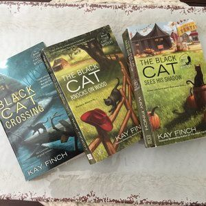 Black Cat Mystery Series Books 1 2 & 3 Kay Finch